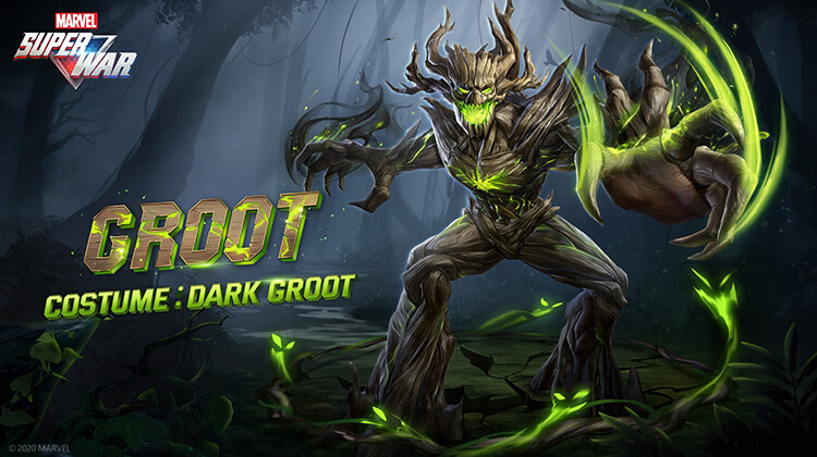Dark Groot