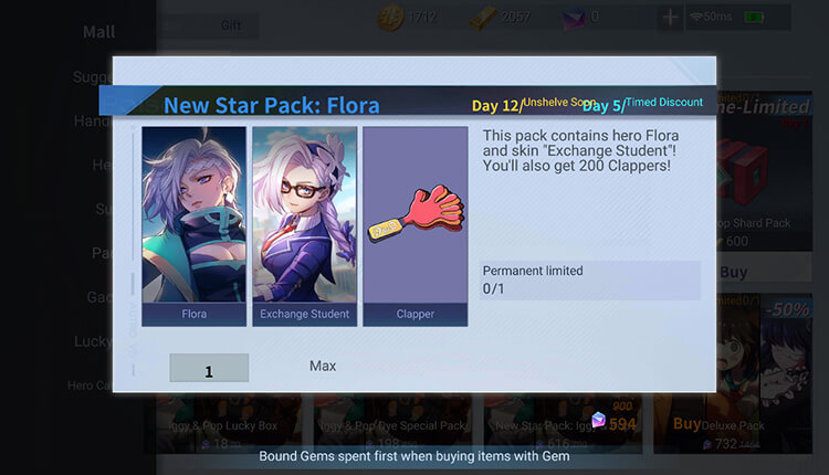 Flora New Star Pack