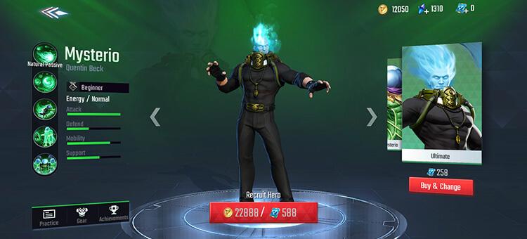 Mysterio Ultimate Skin