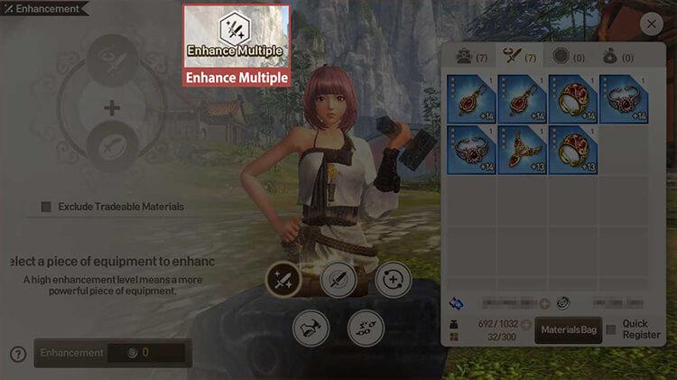 Blade & Soul Revolution Basic Guides: Enhancement