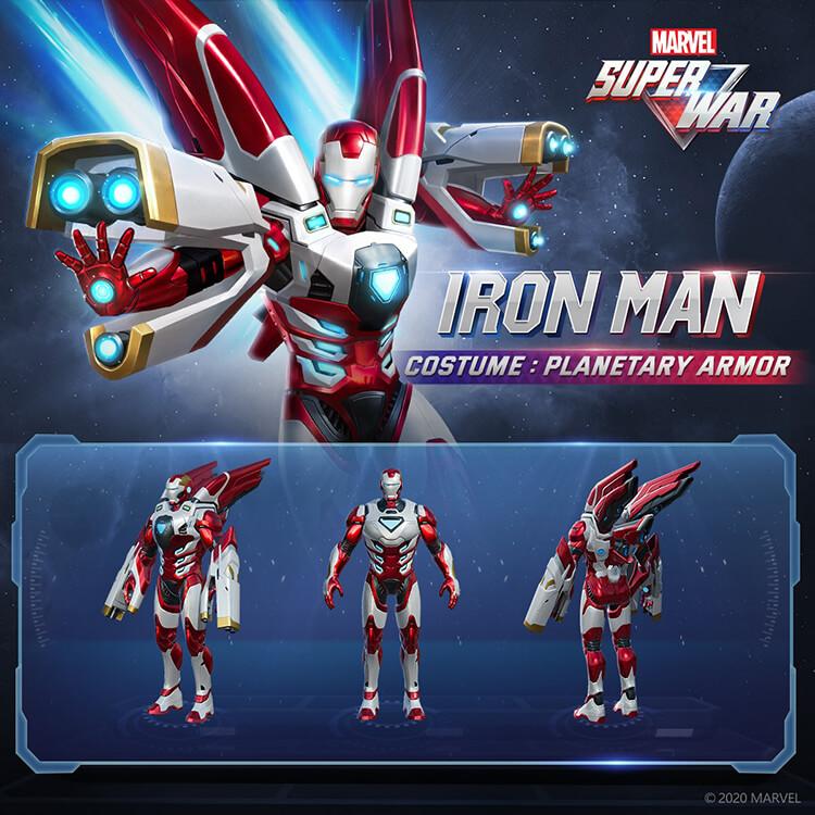 Iron Man Planetary Armor