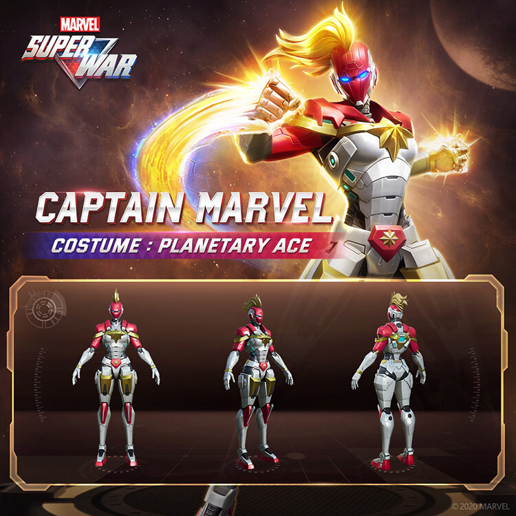 Captain Marvel Planetary Ace