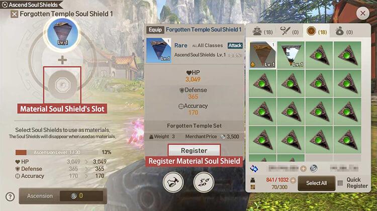 Blade & Soul Revolution Basic Guides: Soul Shield Ascension