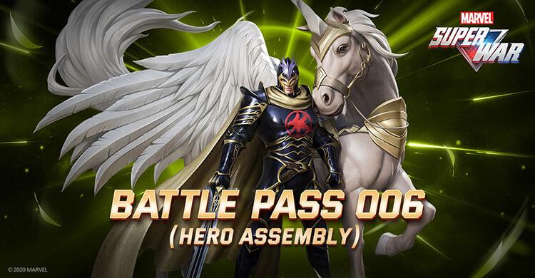S.H.I.E.L.D. has announced Battle Pass 006!