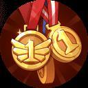 Gold Medal Hoarder
