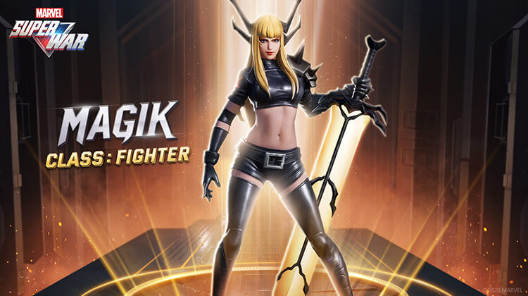 Magik is a melee DPS hero. Her sword can easily slice through armor, and she is capable of dragging enemy heroes into limbo