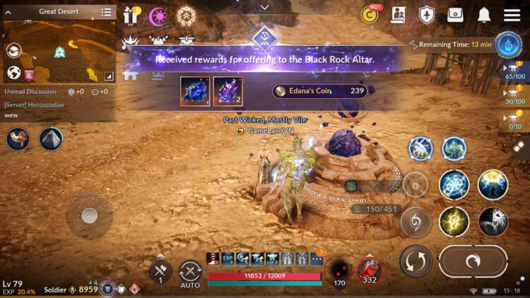 Black Rock Altar