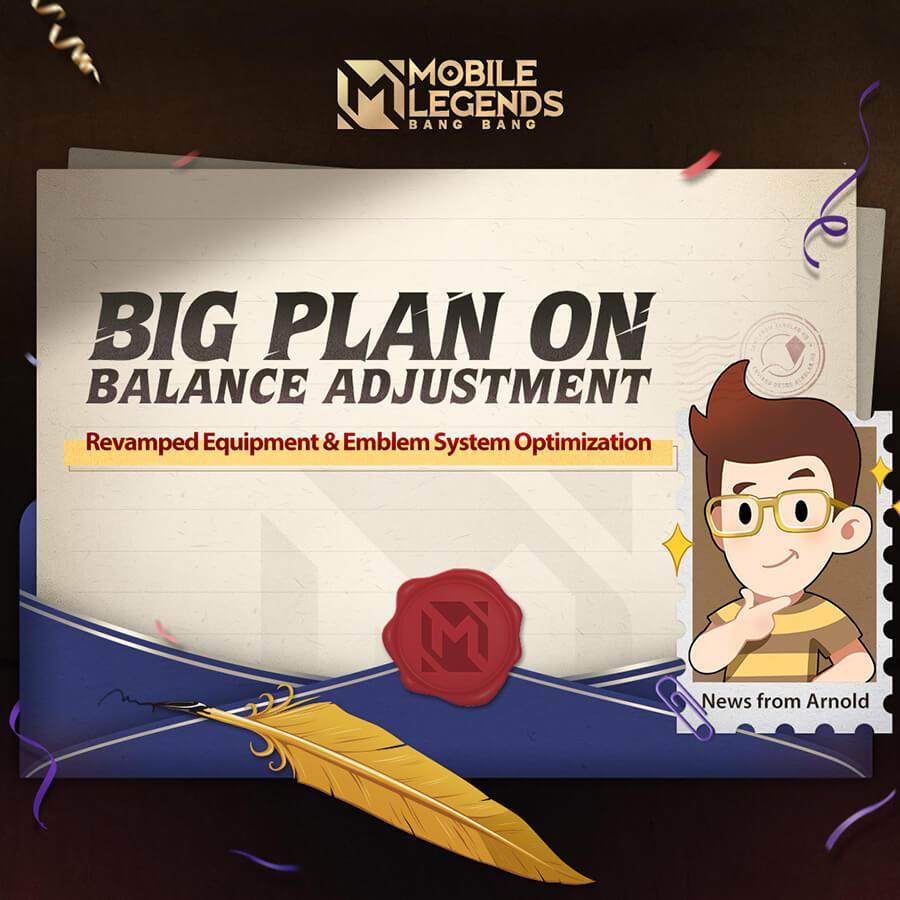 Mobile Legends: Bang Bang announced big plan on balance adjusment