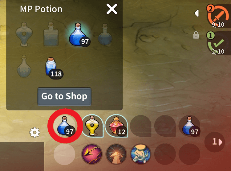 If you're having trouble gathering materials, you can try utilizing the Auto-Play feature to gather