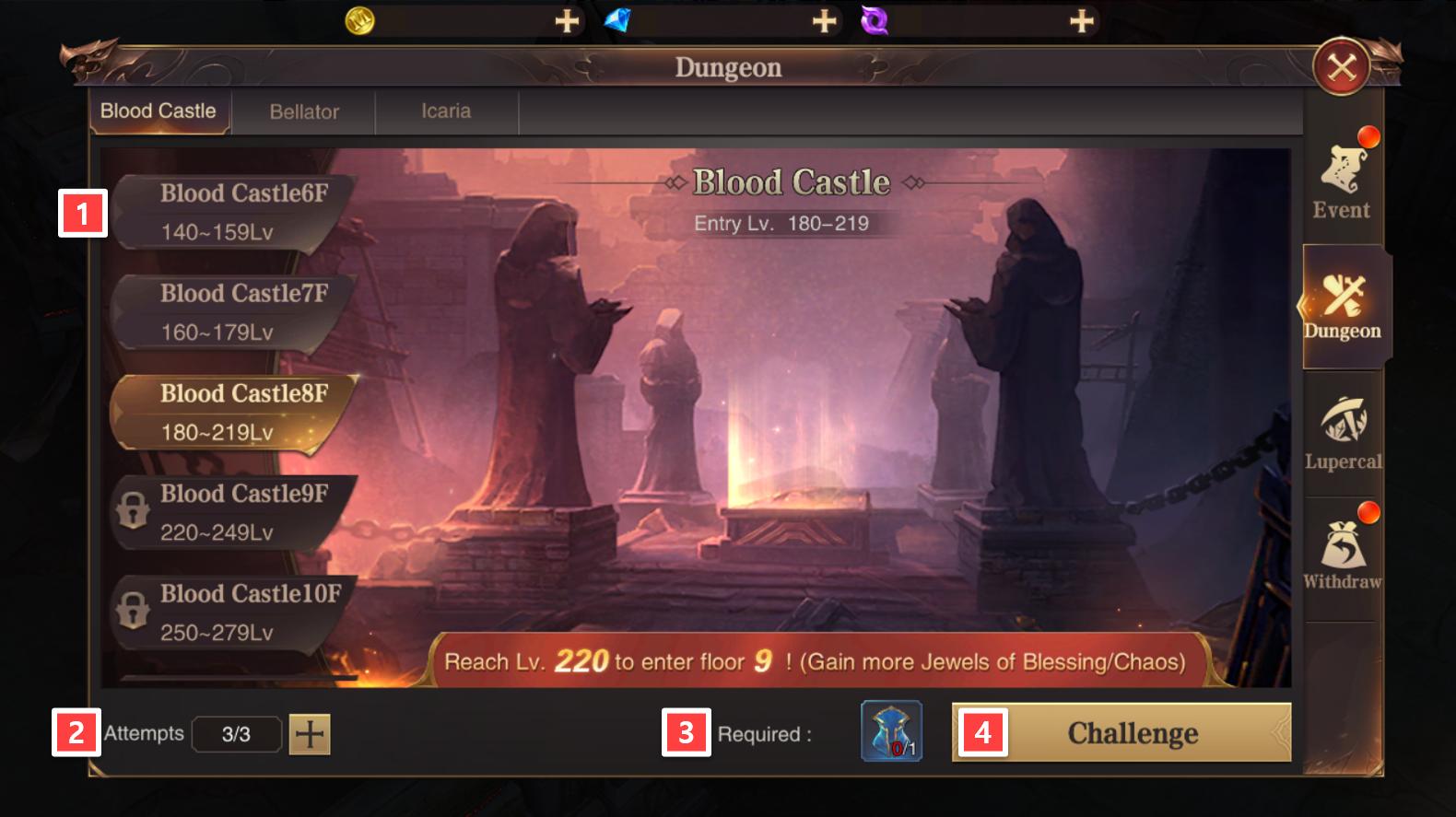Blood Castle