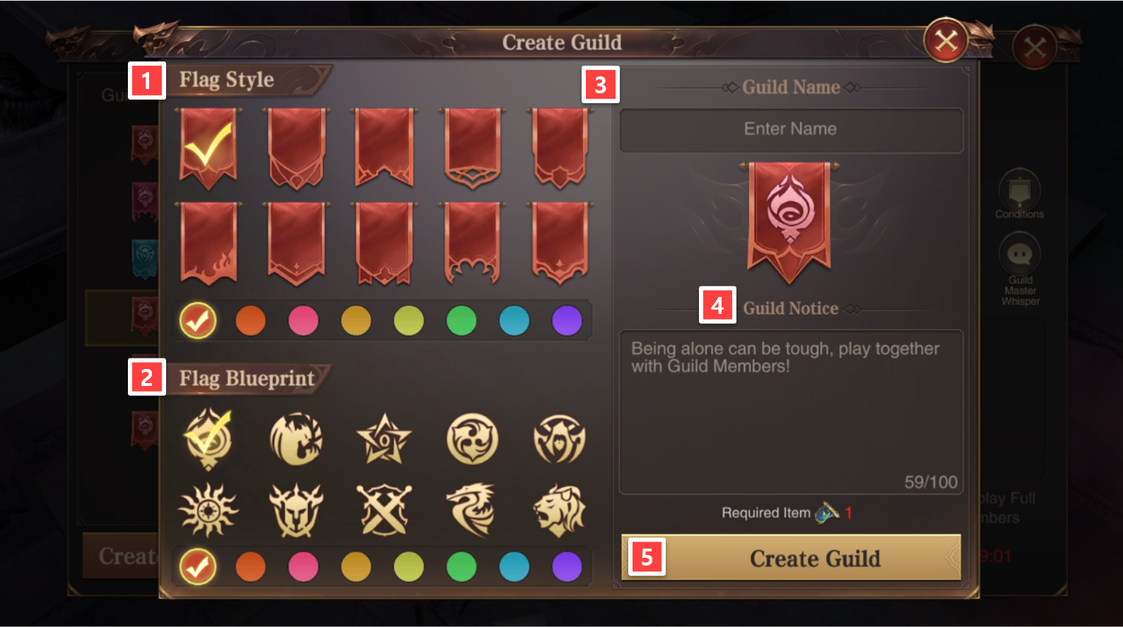 Guild Creation