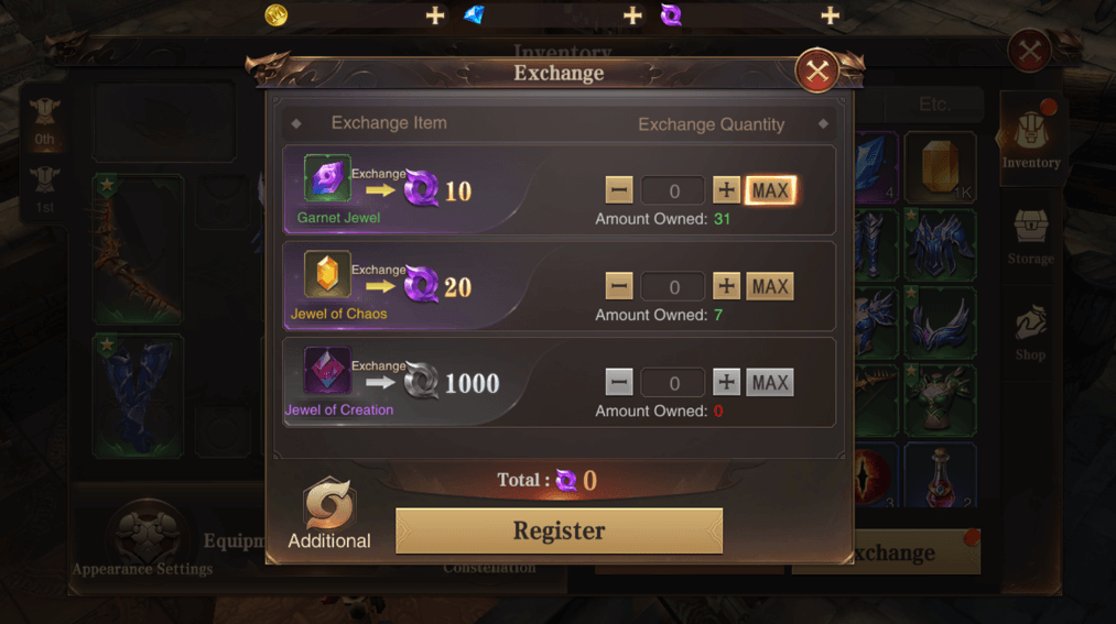 Garnet Exchange