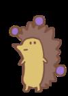 Blueberry Hedgehog