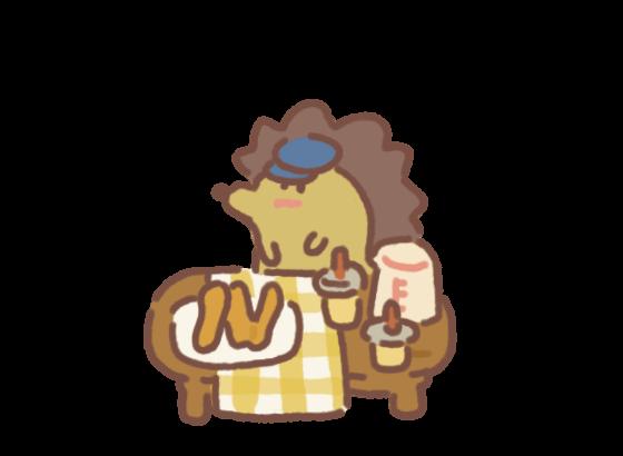 Hedgehog's Breakfast