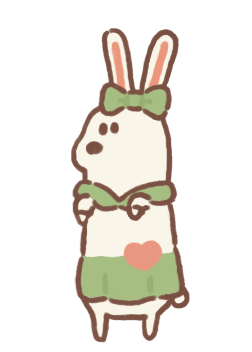 Cutie White Bunny