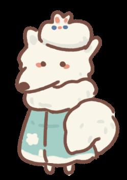 Lady Snow Fox