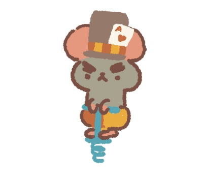 Card-Playing Mouse