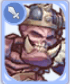 Orc Skeleton Card