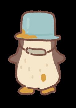 Painter Penguin Doll