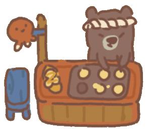 Raccoon's Takoyaki