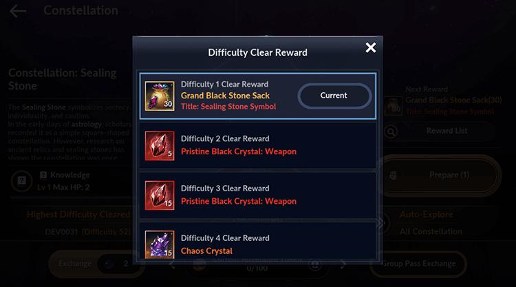 Constellation Rewards