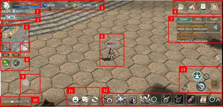 EOS RED Basic Guide: Basic UI