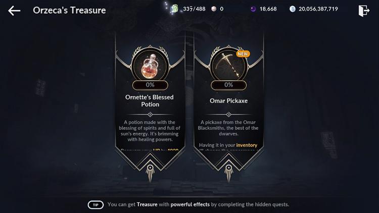 Treasure Type